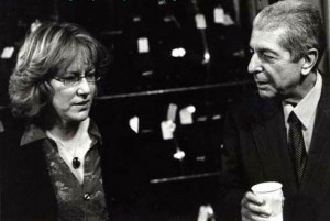 Jennifer-Warnes-and-Leonard-Cohen-at-McCabes-February-2001