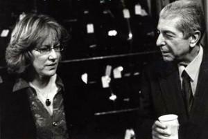 Jennifer-Warnes-and-Leonard-Cohen-at-McCabes-February-2001