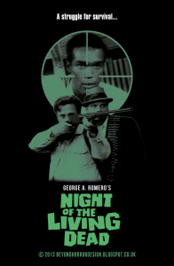 NIGHT OF THE LIVING DEAD 1968 BEYOND HORROR DESIGN