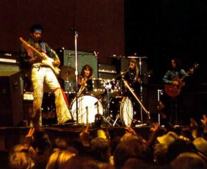 Jimi Hendrix Winterland foto