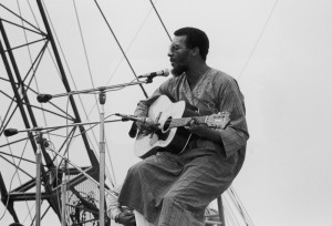Image: Richie Havens at Woodstock