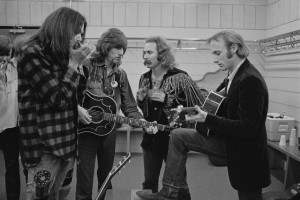 Crosby, Stills, Nash & Young Backstage