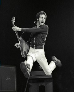 Pete Townshend of The Who, NY, 1974