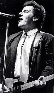 Bruce Springsteen.  Undated photo