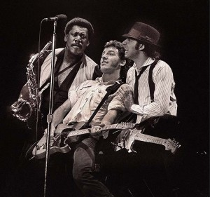Photo of Bruce SPRINGSTEEN and Clarence CLEMONS and Steven VAN ZANDT and LITTLE STEVEN