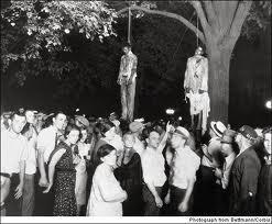 Lynchage de Thomas Shipp et d'Abraham Smitn à Marion dans l'Indiana en 1930