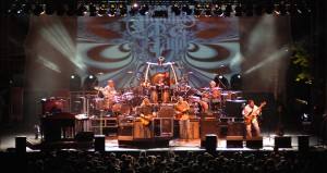 In this photo provided by the Las Vegas News Bureau, the Allman Brothers Band at the Red Rock Station in Las Vegas, Nevada., Sunday May 24, 2009.  (AP Photo/Las Vegas News Bureau, Bob Brye).