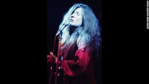 NEW YORK - DECEMBER 19: Janis Joplin performs during a concert at Madison Square Garden on December 19, 1969 in New York City, New York. (Photo by Walter Iooss Jr./Getty Images)