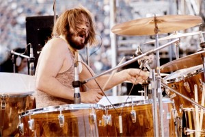 John Bonham on stage 1973