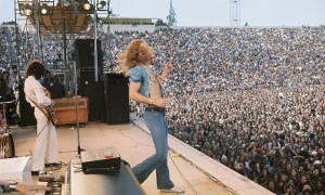 Led Zeppelin in concert in San Francisco, 1973