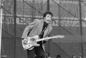 ROTTERDAM, NETHERLANDS-JUNE 28TH: Bruce Springsteen performs at the Feijenoord Stadium in Rotterdam, the Netherlands on 28th june 1988 ( photo by Frans Schellekens/Redferns)