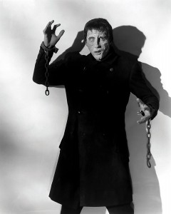 THE CURSE OF FRANKENSTEIN, Christopher Lee, 1957