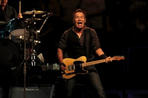 "Bruce Springsteen and the E Street Band perform at Madison Square Garden in New York on November 8, 2009. Springsteen performed his 1980 album ""The River"" in its entirety for the first time. (Nicholas Roberts/For the Star-Ledger)"