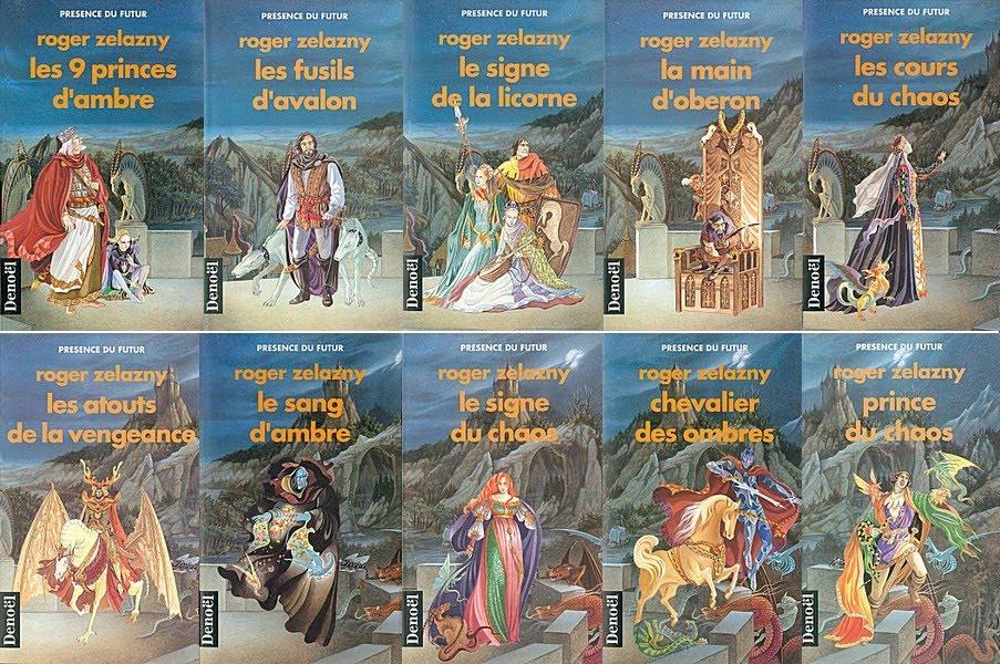 Princes d'Ambres, Intégrale tomes 1 à 10 version epub, de Roger Zelazny
